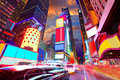 Times Square Manhattan New York deleted ads Royalty Free Stock Photo