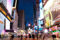 Times Square New York Photographie stock libre de droits