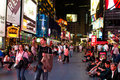 Times square in New York Stock Photography