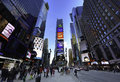 Times Square New York Stock Photography