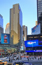 Times square new york city may featured with broadway theaters and huge number of led signs is a symbol of and the Royalty Free Stock Images