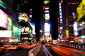 Times square at night #3 Royalty Free Stock Images