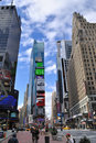Times Square Skyscrapers Royalty Free Stock Photography