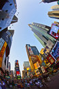 Times Square is a symbol of New Royalty Free Stock Photography