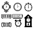 Timewatch design over white background vector illustration Royalty Free Stock Photo