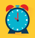 Timewatch design over yellow background vector illustration Royalty Free Stock Images
