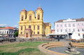Timisoara small cathedral Royalty Free Stock Photography