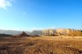Timna valley the historical area is rich in copper ore the southwestern arabah israel Stock Photography
