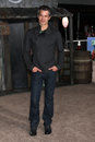 Timothy olyphant los angeles feb arrives at the rango premiere at village theater on february in westwood ca Stock Image