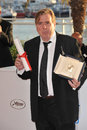 Timothy spall cannes france may winner of best actor award for mr turner at the awards photocall at the th festival de cannes Royalty Free Stock Photos