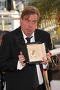 Timothy spall cannes france may winner of best actor award for mr turner at the awards photocall at the th festival de cannes Stock Image