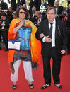Timothy spall shane spall cannes france may wife at the gala awards ceremony at the th festival de cannes Stock Photography