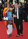 Timothy spall shane spall cannes france may wife at the gala awards ceremony at the th festival de cannes Stock Photo