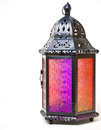 Tin and Glass Lantern Royalty Free Stock Photo