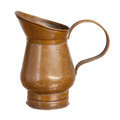 Tin pitcher Royalty Free Stock Images