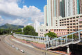 Tin Shui Wai district in Hong Kong at day Stock Photo