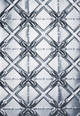 Tin Stamped Metal Background Royalty Free Stock Photo