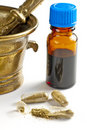 Tincture and pills Royalty Free Stock Images