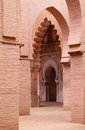 Tinmal Mosque interior High Atlas Morocco Stock Photos