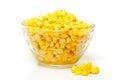Tinned corn Royalty Free Stock Photo