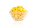 Tinned corn Stock Photography