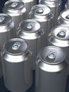 Tins cans Royalty Free Stock Photo
