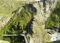 Tintagel Castle ruin Royalty Free Stock Photo