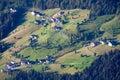 Tiny Mountain village Royalty Free Stock Photo