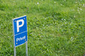 Tiny private ground sign Royalty Free Stock Photo