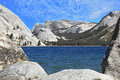 Tioga blue lake Royalty Free Stock Image
