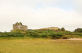 Tioram Castle on Loch Moidart south of Mallaig, Scotland, UK. Royalty Free Stock Photo