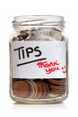 Tip jar Stock Photos