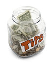 Tip Jar Royalty Free Stock Photo