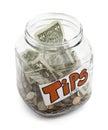 Tip Jar Royalty Free Stock Photo