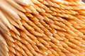 Tips toothpicks background wooden sharp Royalty Free Stock Image