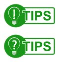 Tips Royalty Free Stock Photo