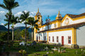 Tiradentes historical city minas gerais brazil Royalty Free Stock Photos