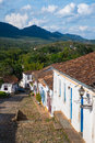 Tiradentes historical city minas gerais brazil Royalty Free Stock Photography