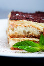 Tiramisu Royalty Free Stock Photo