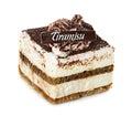 Tiramisu, cake Royalty Free Stock Photo