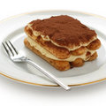 Tiramisu , italian dessert Royalty Free Stock Photo