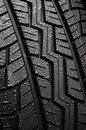Tire new with water droplets Royalty Free Stock Images