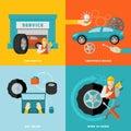 Tire Service Set