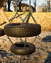 Tire Swing Stock Photo