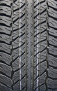 Tire thread texture Royalty Free Stock Photo