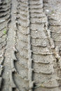 Tire Track Royalty Free Stock Photo