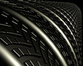 Tire and Treads Royalty Free Stock Photography