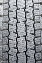 Tire treads close up of a truck showing the deep Stock Photo