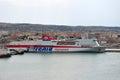 Tirrenia ferry Stock Photo
