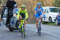Tirreno Adriatico 2012, second stage Royalty Free Stock Photos